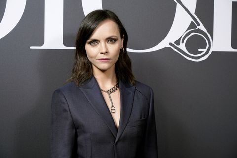 paris, france   january 17 christina ricci attends the dior homme menswear fallwinter 2020 2021 show as part of paris fashion week on january 17, 2020 in paris, france photo by francois durand for diorgetty images