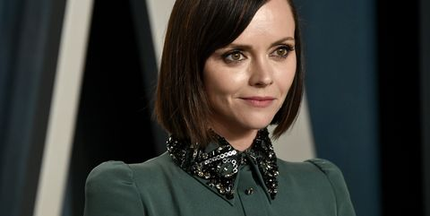 beverly hills, california   february 09 christina ricci attends the 2020 vanity fair oscar party hosted by radhika jones at wallis annenberg center for the performing arts on february 09, 2020 in beverly hills, california photo by frazer harrisongetty images