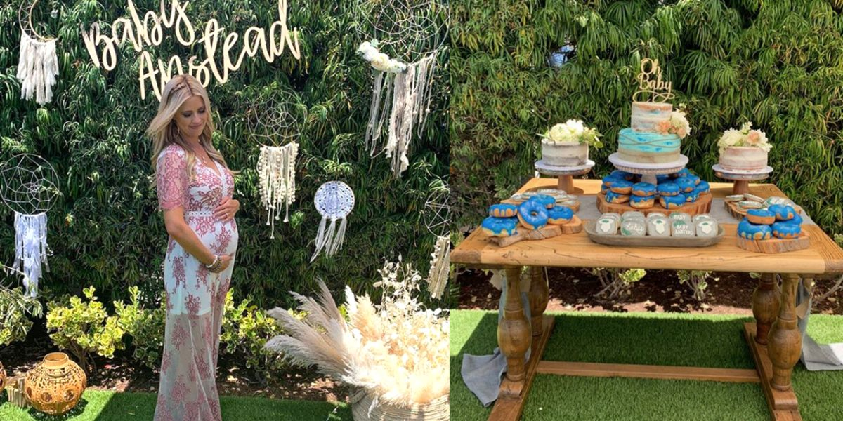 Hgtv S Christina Anstead Reveals Baby Shower Photos On