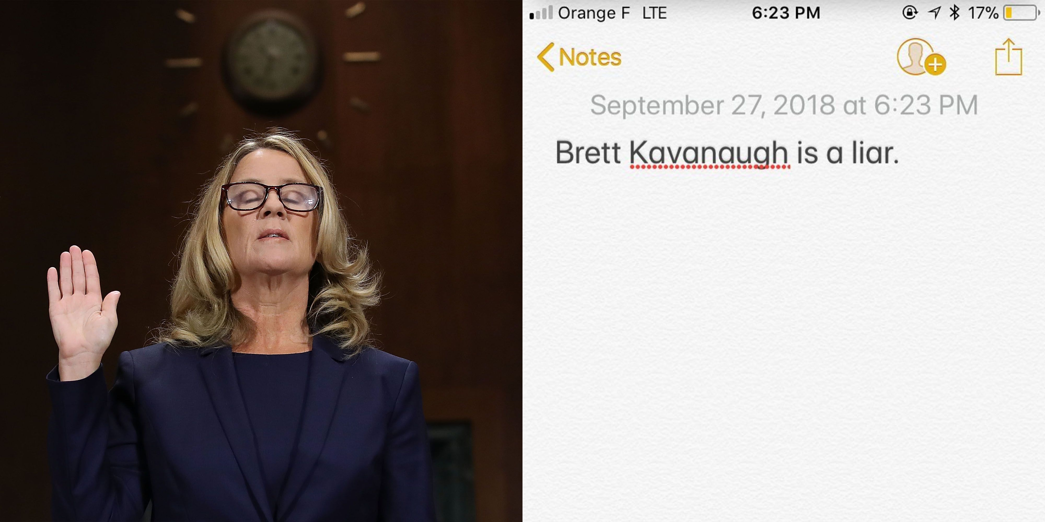 4a1055bbdfb51 Celebrities Support for Christine Blasey Ford - Celebrity Instagrams About  Christine Blasey Ford