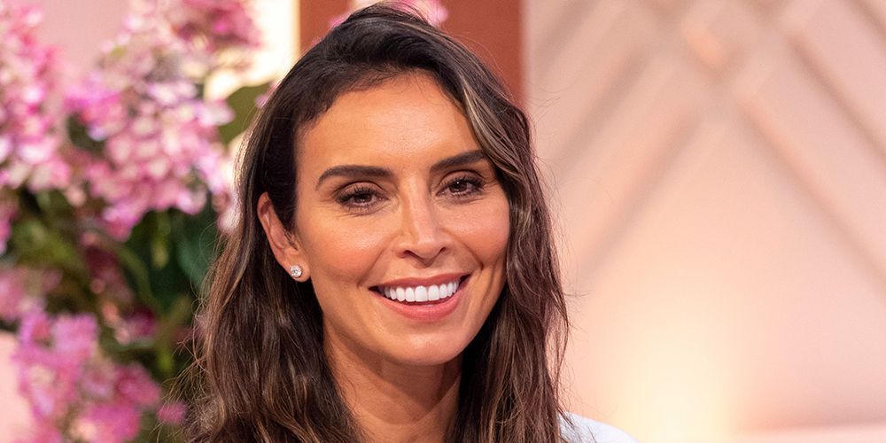 Christine Lampard S Polka Dot Oasis Dress Has Caused A Buying Frenzy