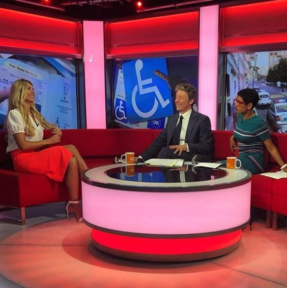 Christine McGuinness reveals strangers demand to see her autistic children's disabled badges