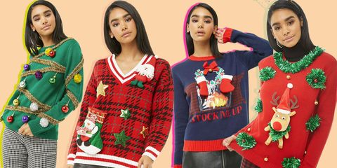 National Christmas Jumper Day 2019.Christmas Jumpers 2019 25 Best Novelty Festive Sweaters To Shop