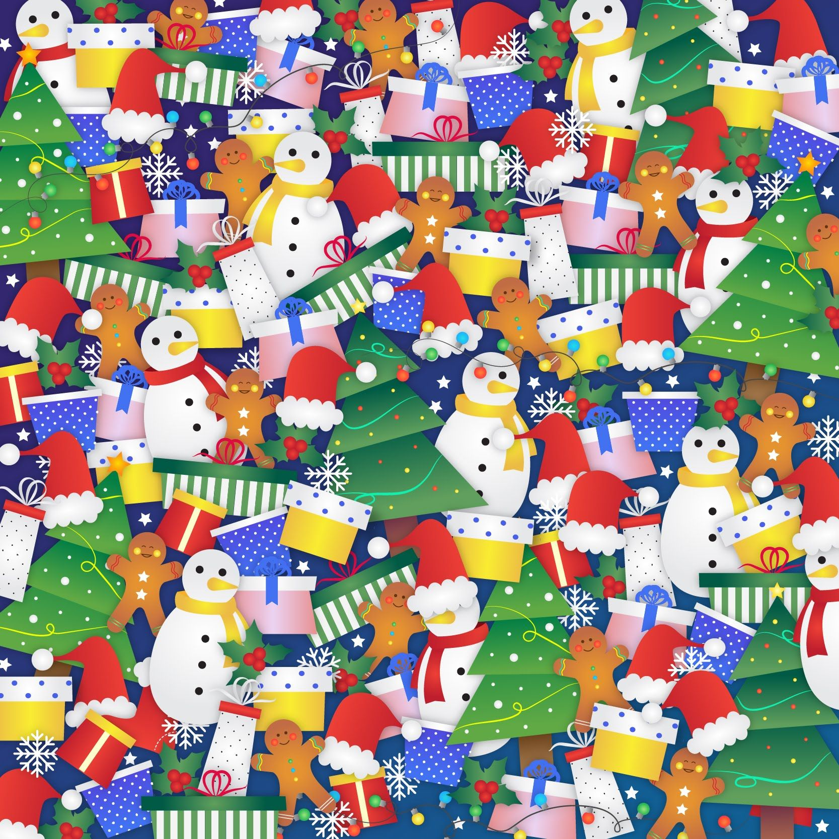 Christmas Brain Teasers For Adults.Can You Spot The Hidden Stocking In This Festive Christmas