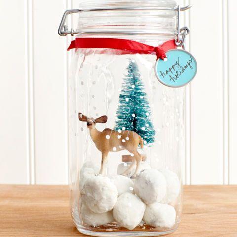 christmas activities for kids snow globe cookie jar