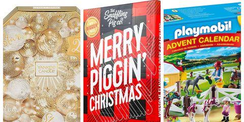 Christmas advent calendars on Amazon