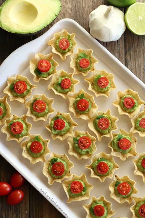 christmas appetizers guacamole