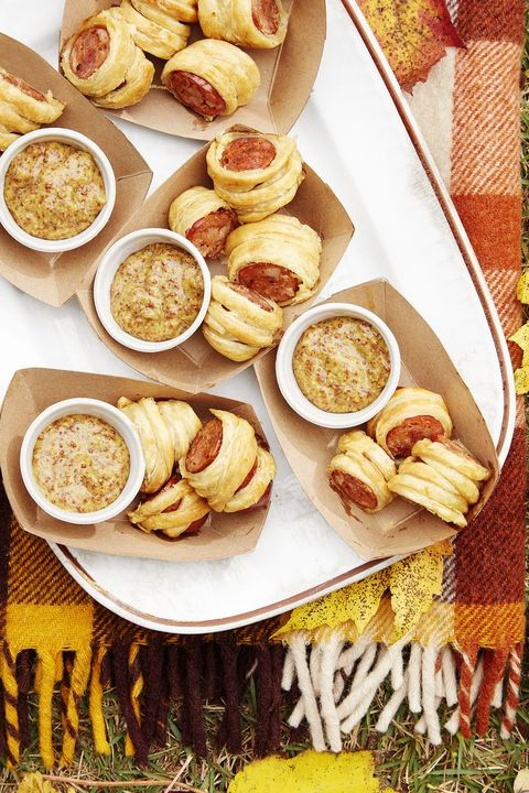 christmas appetizers sausage puffs