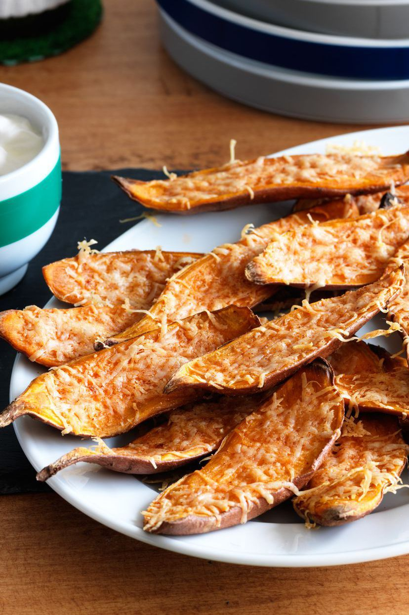 christmas appetizers sweet potato skins