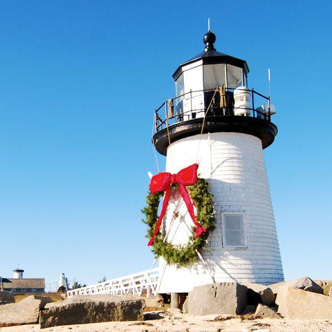 Natal em Brandt Point em Nantucket