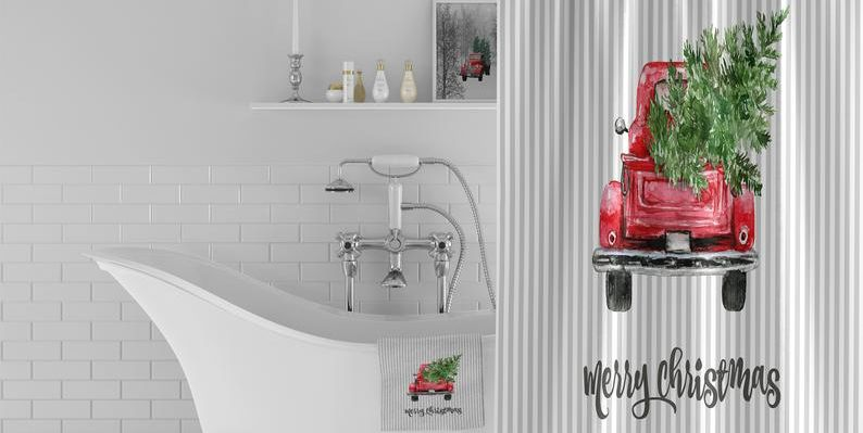 15 Best Christmas Bathroom Sets 2019