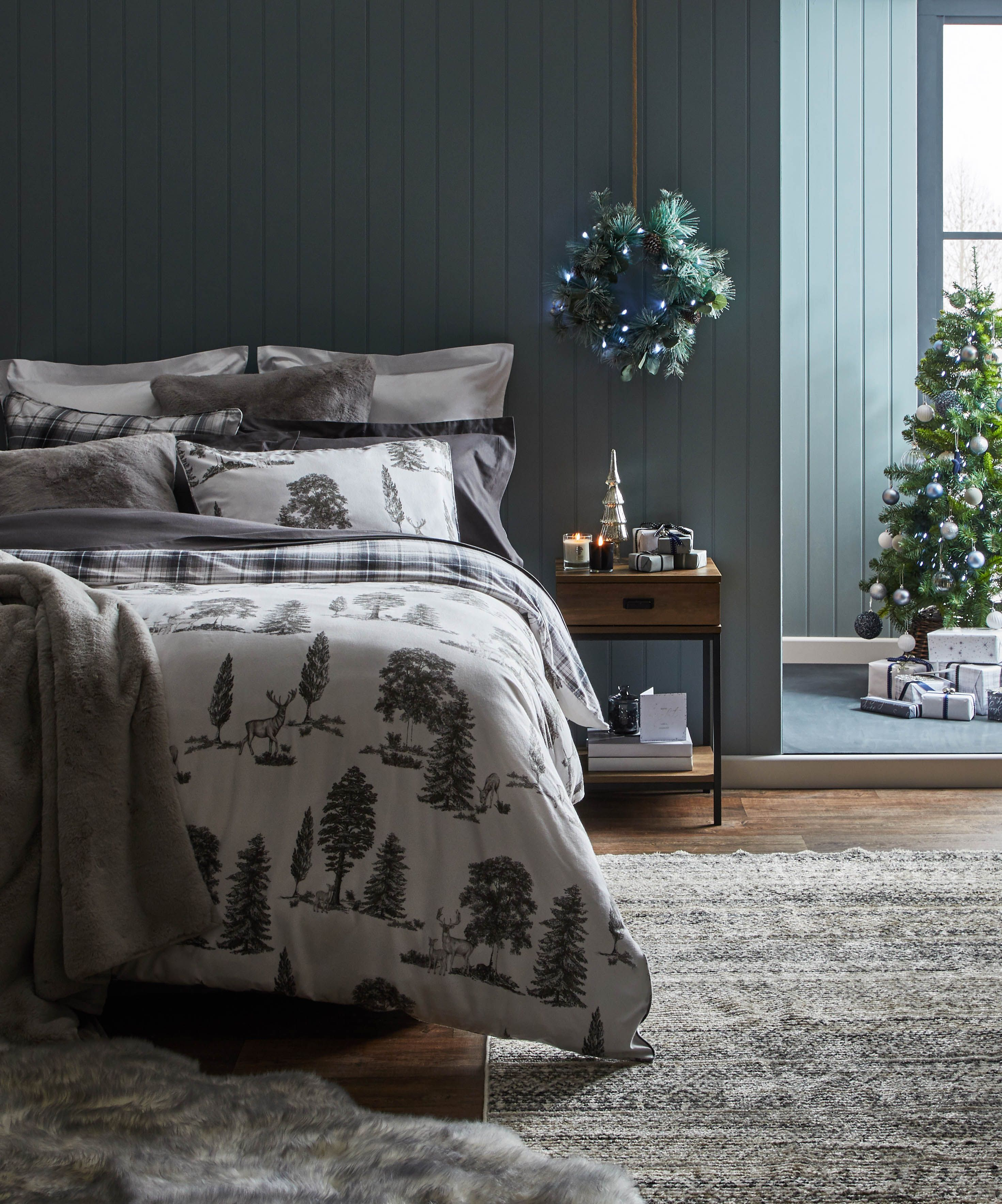 This year's top Christmas bedding trends, according to Instagram