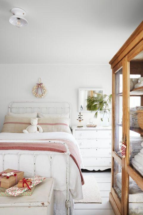 christmas bedroom decor blanket