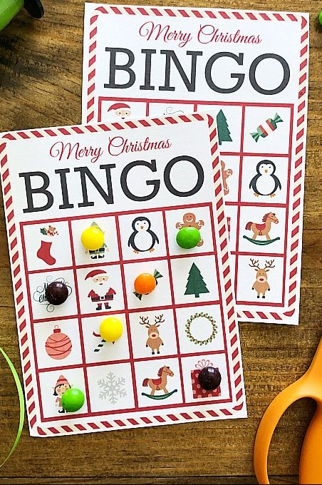 christmas bingo ideas