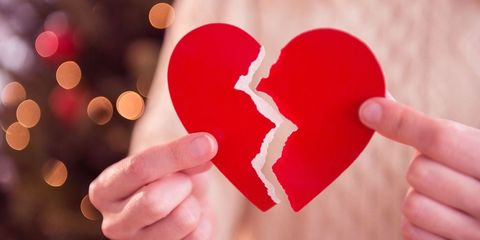 Broken hearted at Christmas