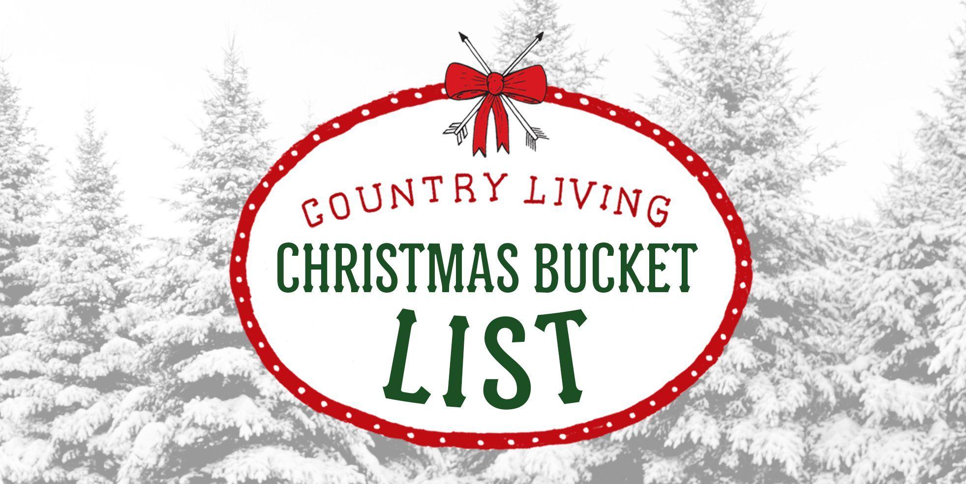 christmas bucket list activities