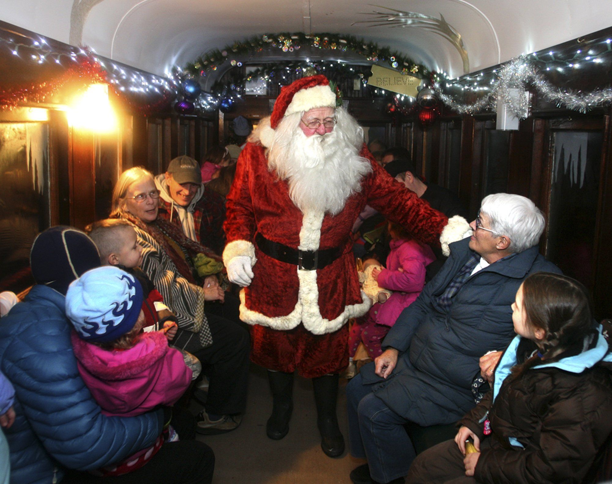 christmas bucket list activities polar express train ride
