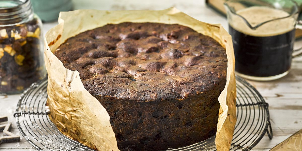 Christmas Cake.Chocolate Stout Christmas Cake
