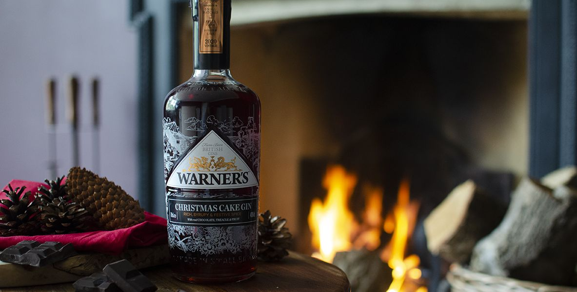 Warner's sell-out Christmas Cake Gin is back with dark chocolate, treacle and spice