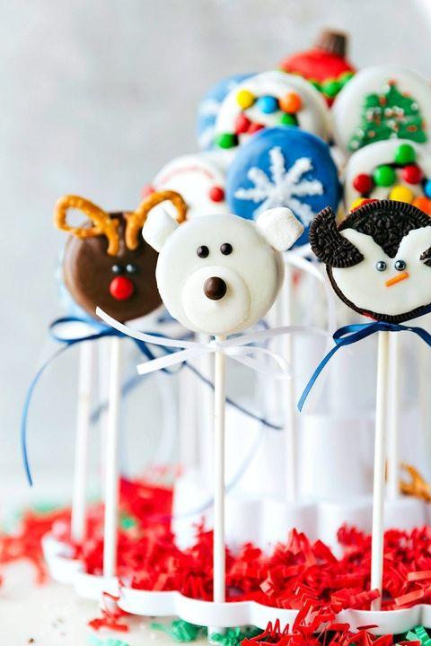 christmas cake pops oreos