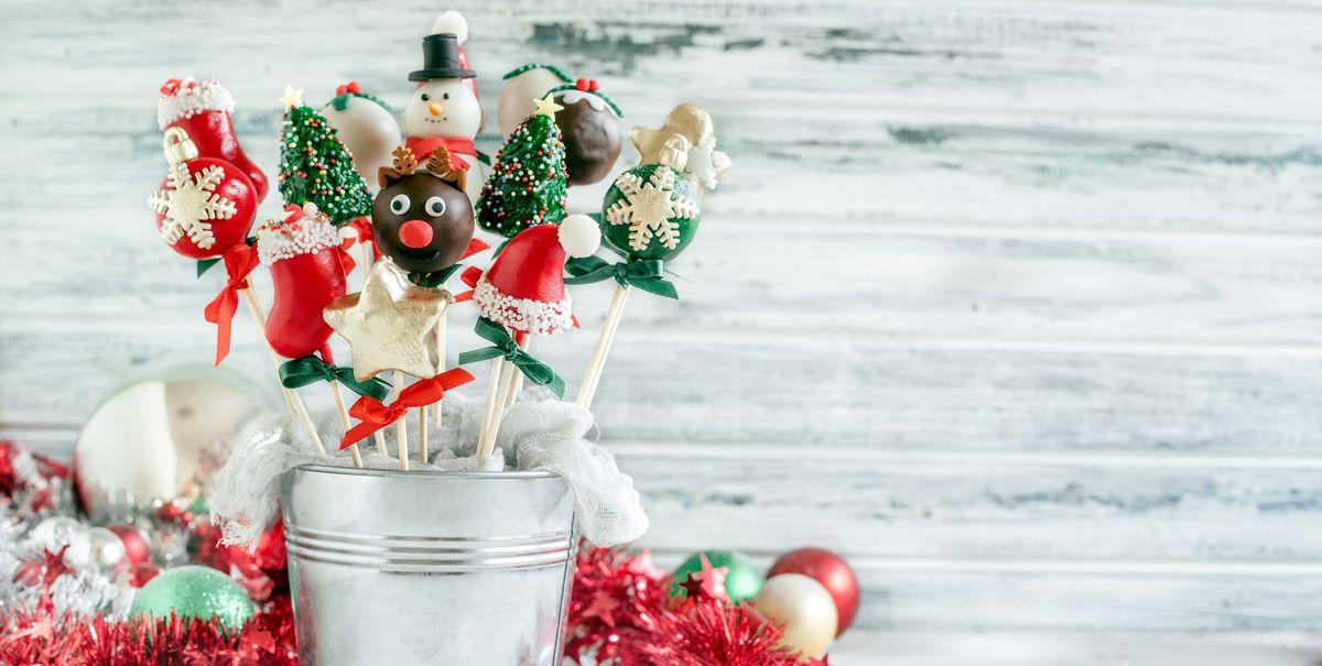 30 Best Christmas Cake Pops Easy Christmas Cake Pop Recipes