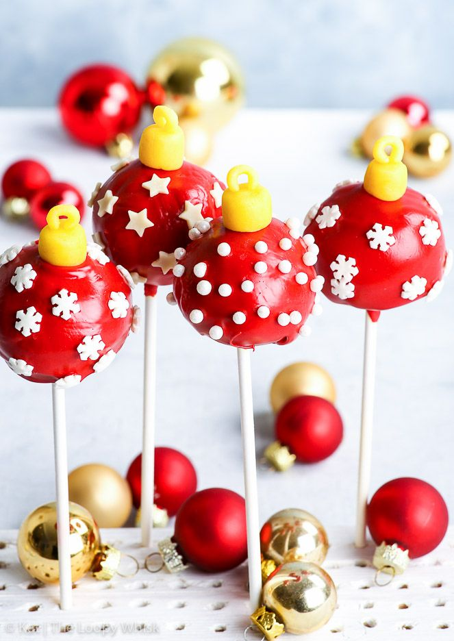 22 Christmas Cake Pops No One Will Be Able to Turn Down - Christmas Cake Pop  Recipe - 22 Christmas Cake Pops No One Will Be Able To Turn Down - Christmas