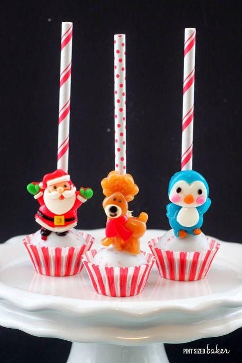 christmas cake pops easy