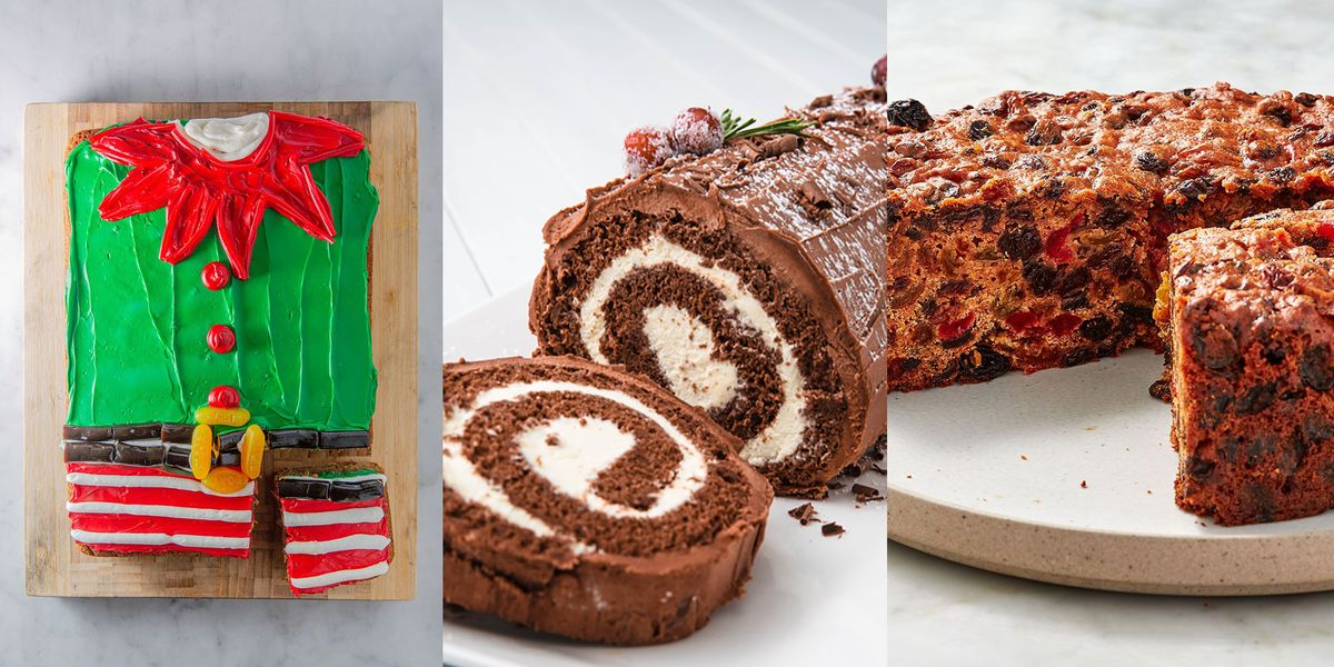 Delicious-Tasting Christmas Cakes You'll Want To Bake Again And Again