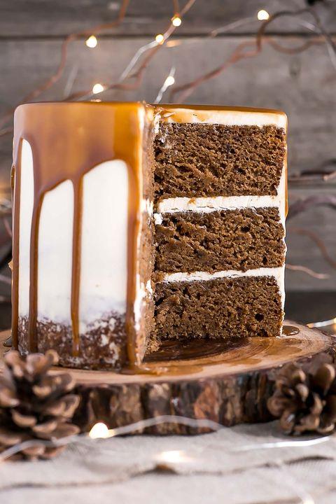 christmas cake sticky toffee pudding