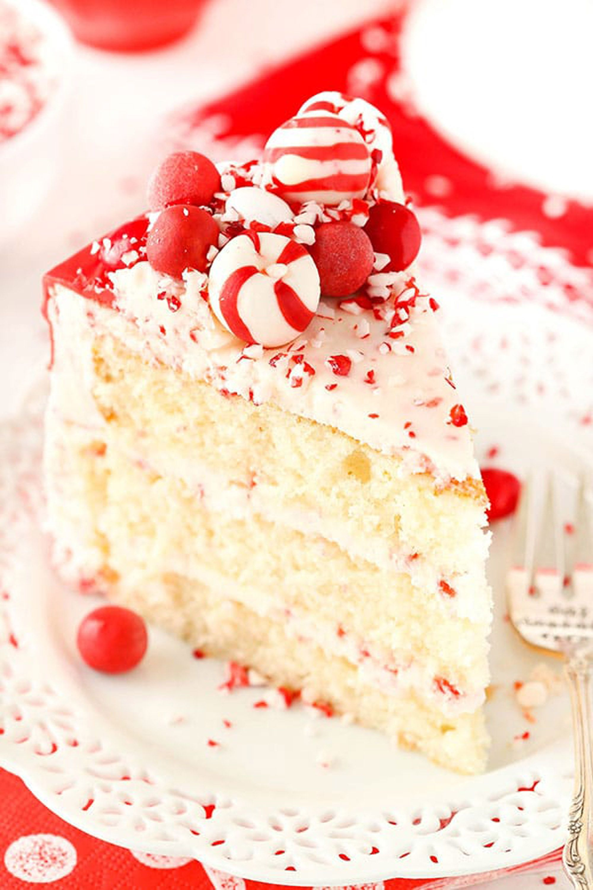 christmas cakes peppermint