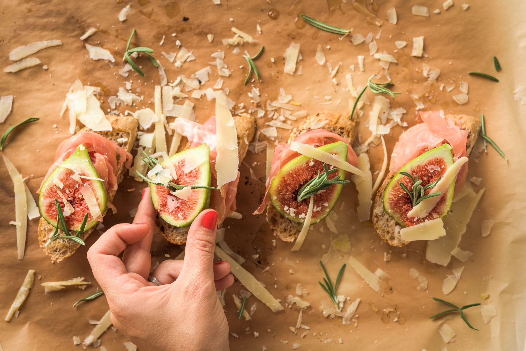 Best Christmas Canapes Recipes Christmas Party Recipes