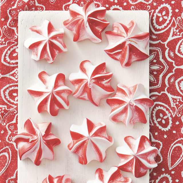 christmas candy recipes peppermint candies on white board