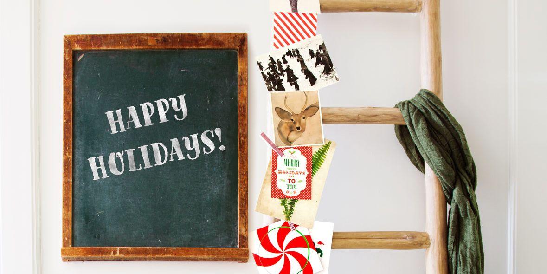 27 Diy Christmas Card Holder Ideas How To Display Christmas Cards