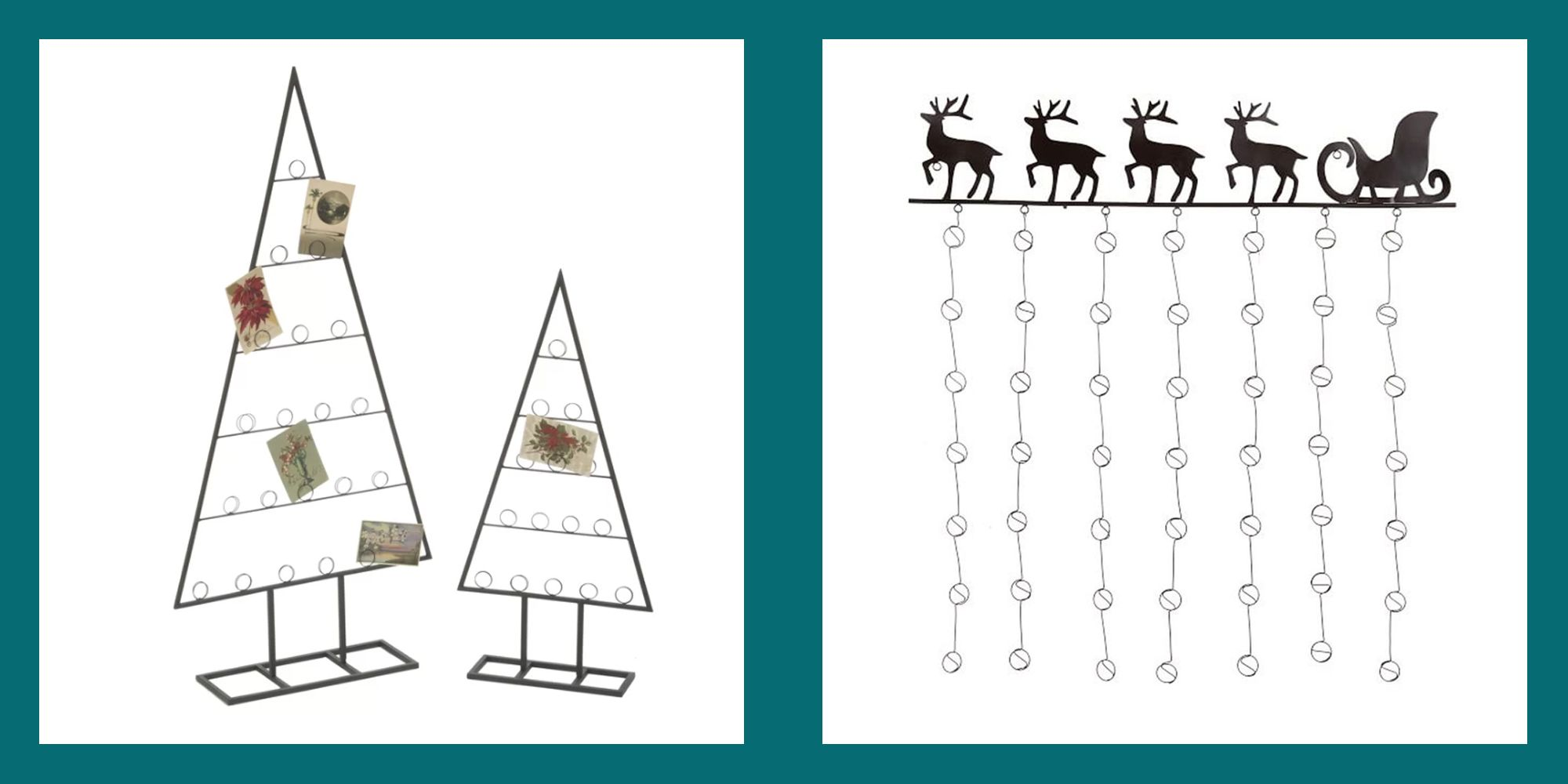 20 Stylish Christmas Card Holders 2019 Best Holders For Holiday Cards