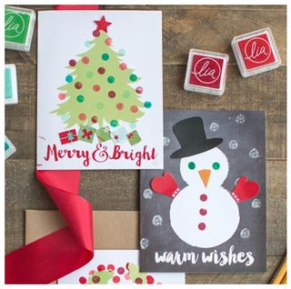 17 fun family christmas party ideas holiday party food and decor tips christmas card ideas diy christmas cards solutioingenieria Image collections
