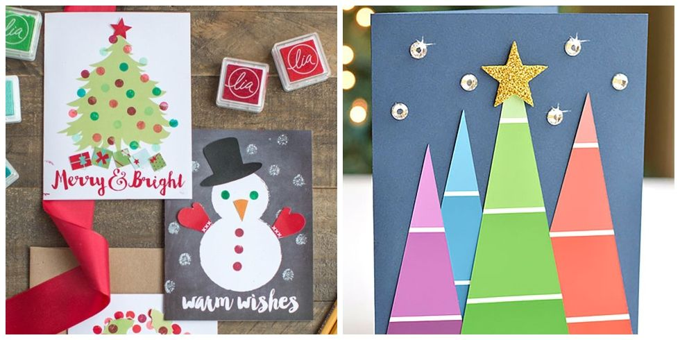 christmas card ideas - diy christmas cards