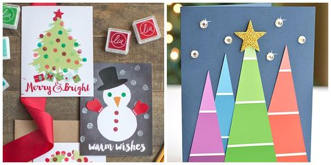 17 diy christmas card ideas easy homemade christmas cards were christmas card ideas diy christmas cards solutioingenieria Images