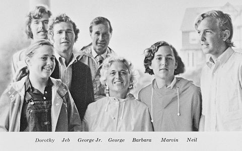 Former President George Bush and Family