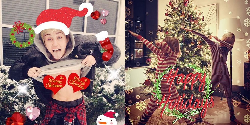 Best Celebrity Christmas Cards - Celebrity Holiday Cards