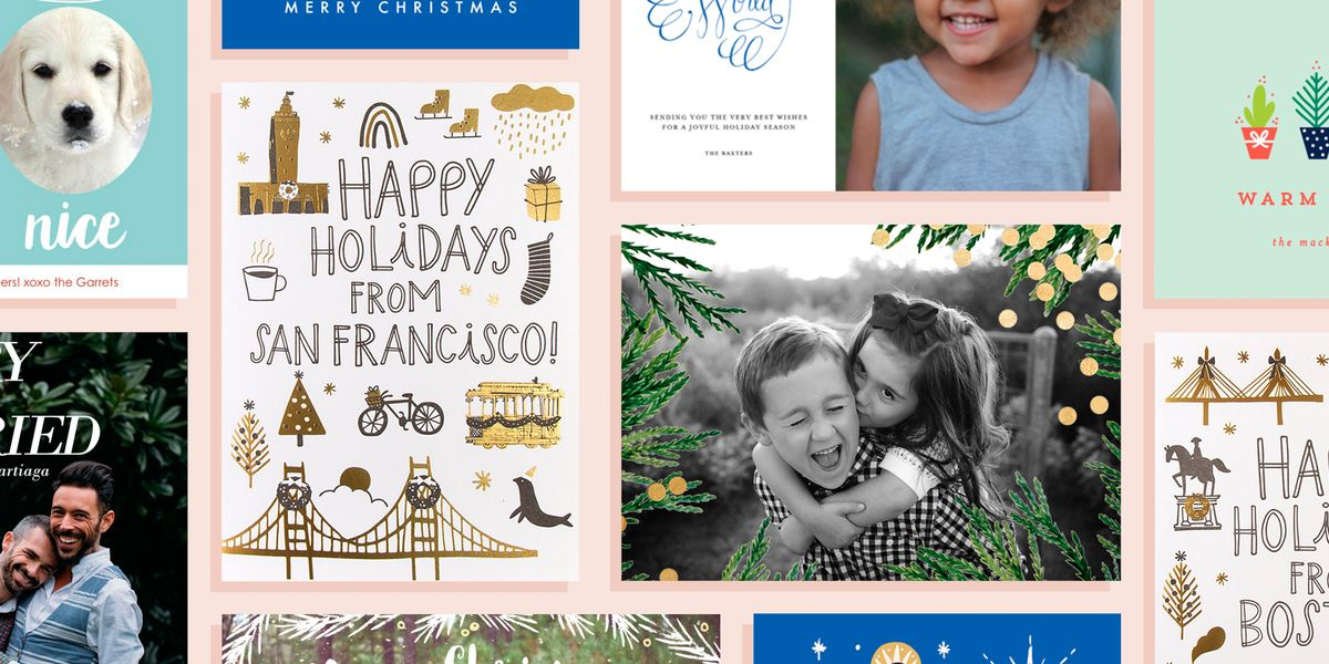 15 Best Christmas Cards for 2018 - Cute Holiday Card Ideas