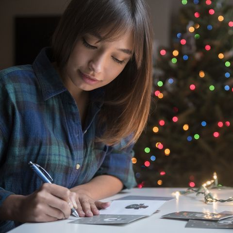 why send a christmas card