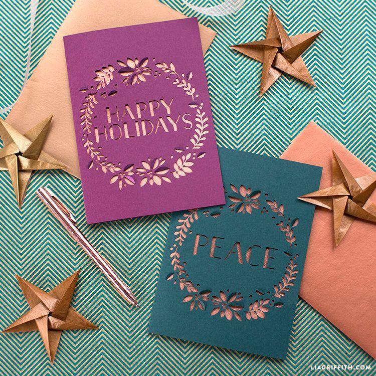 10 Best DIY Christmas Card Ideas 2018 - Cute Cards for Seasons Greetings