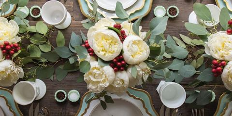 Fabulous 35 Elegant Christmas Table Settings Stylish Holiday Table Home Interior And Landscaping Synyenasavecom