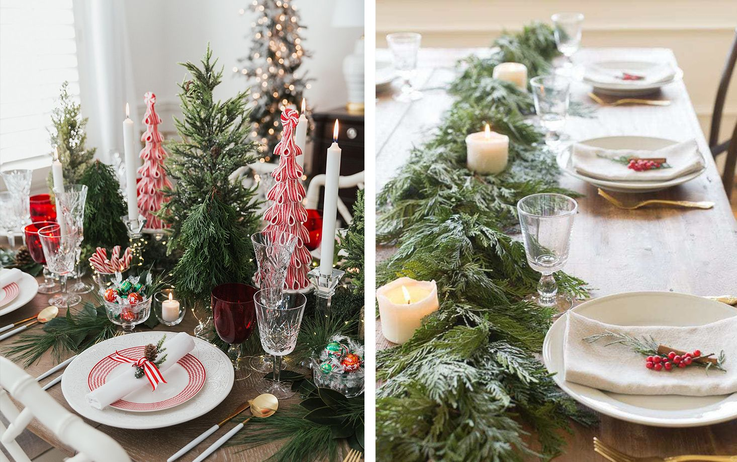35 Best Christmas Centerpieces Stylish Holiday Table Setting Ideas