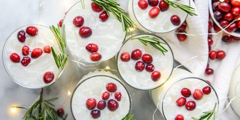 christmas cocktails - White Christmas Martini Recipe