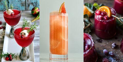 Christmas cocktail recipes - Festive