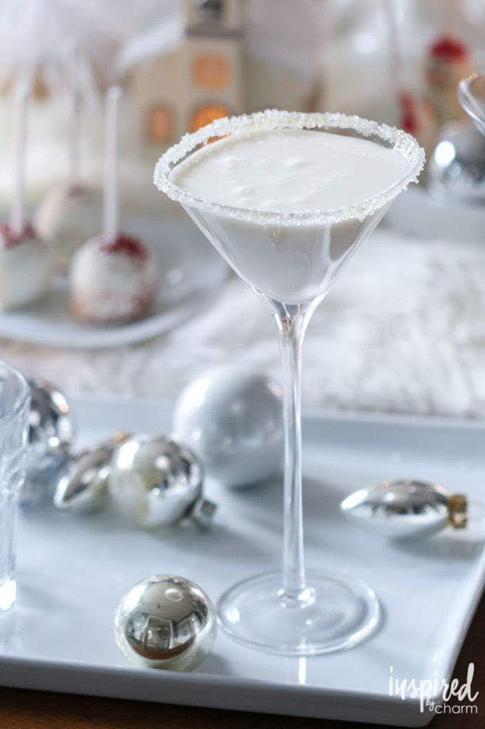 christmas cocktails martini