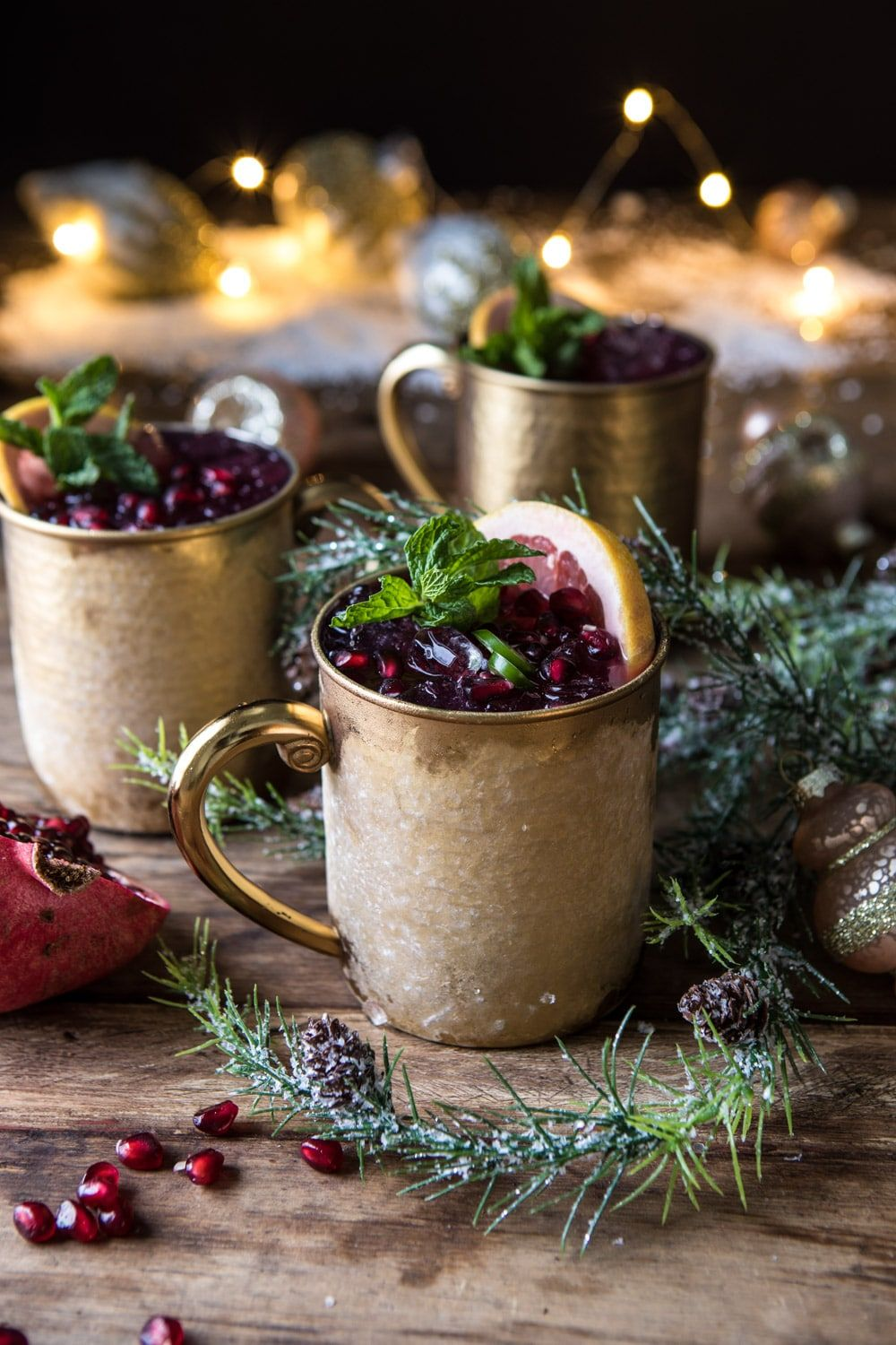 christmas cocktails mule