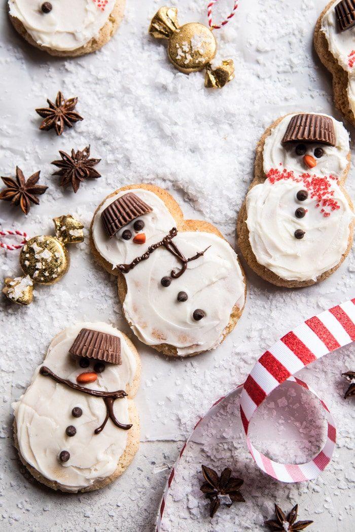 christmas cookies eggnog