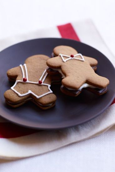 christmas cookies gingerbread smores